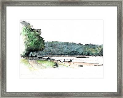 Gone Fishing  Framed Print by Andy  Mercer