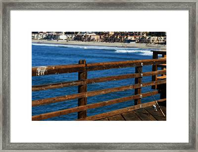 Gone Fishing In Color Framed Print