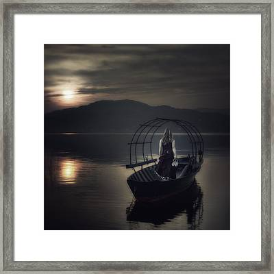 Gone Fishing Framed Print by Joana Kruse