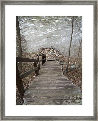 Gone Fishing Framed Print by Kristine Nora