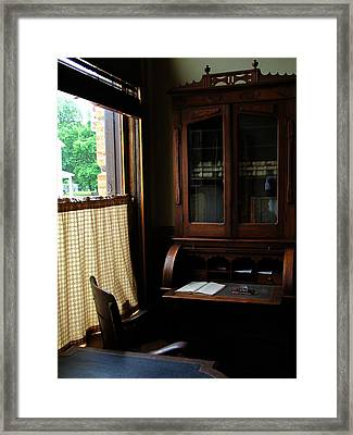 Gone Fishing Framed Print by Scott Hovind