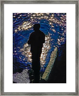 Gone Fishing Framed Print by Steve Harrington