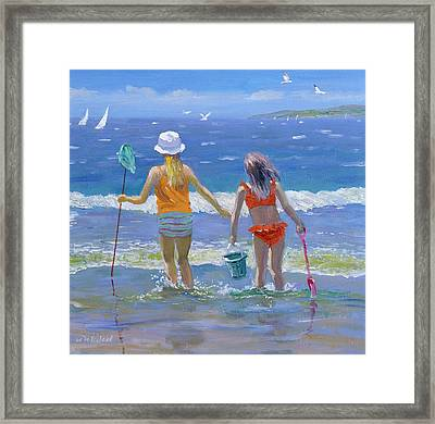 Gone Fishing  Framed Print by William Ireland