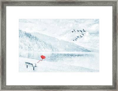 Gone Framed Print by Iryna Goodall