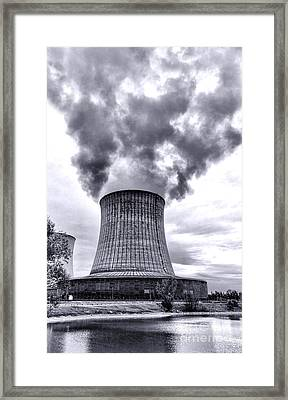 Gone Nuclear Framed Print by Olivier Le Queinec