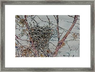 Gone South Framed Print