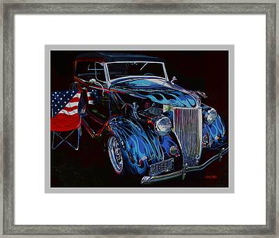 Gone To Iraq Framed Print by Mike Hill