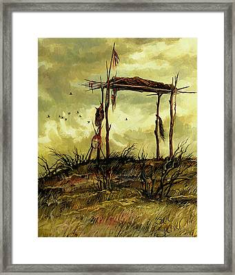 Gone To The Spirit Trail Framed Print