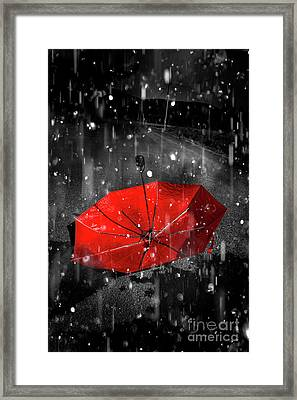 Gone With The Rain Framed Print by Jorgo Photography - Wall Art Gallery