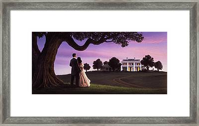 Gone With The Wind Framed Print by Jerry LoFaro