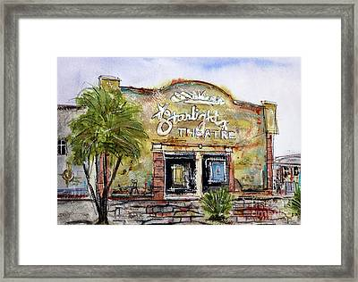 Gone With The Wind Framed Print by Tim Ross