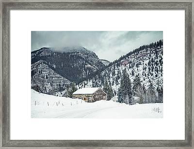 Gonesville  Framed Print