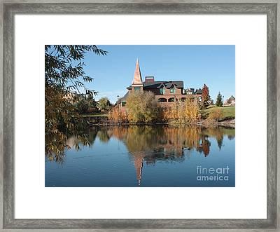 Gonzaga Art Building Framed Print