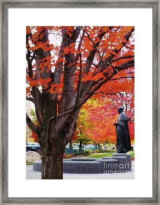 Gonzaga Welcome Framed Print