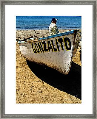 Gonzalito Framed Print by Mexicolors Art Photography