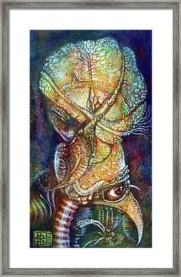 Gonzo Is That You Framed Print by Otto Rapp