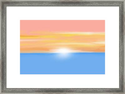 Good Am Framed Print by Art Spectrum