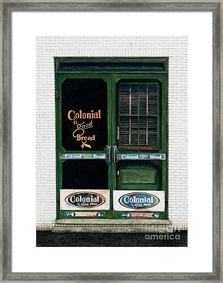 Good Bread Framed Print by Mike England