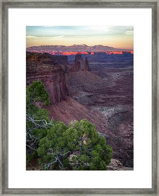 Good-by Kiss Framed Print