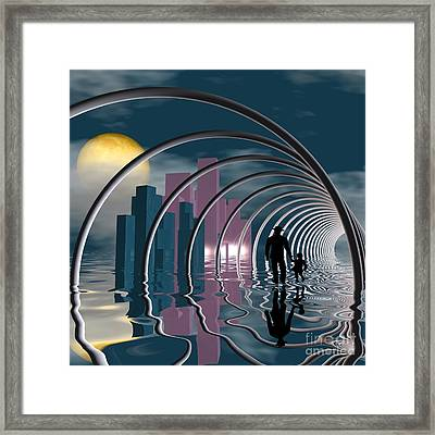 Good-bye Framed Print