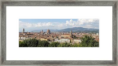 Goodbye To Florence Framed Print by Allan Levin