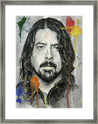 Good Dave Framed Print by Nate Michaels