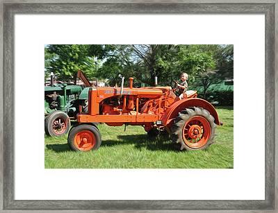Good Day On The Farm Framed Print