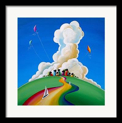 Kite Framed Prints
