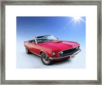 Good Day Sunshine Framed Print by Douglas Pittman