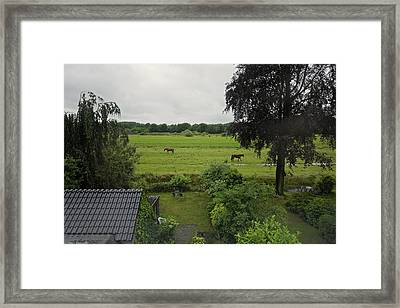 Good Evening De Bilt Framed Print