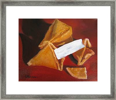 Good Fortune Framed Print by LaVonne Hand
