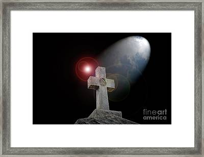 Good Friday Framed Print by Bonnie Barry