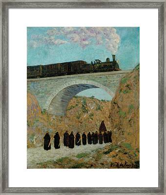 Good Friday In Castile Framed Print