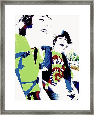 Good Friends Framed Print by Ed Smith