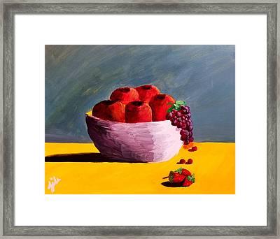 Good Fruit Framed Print