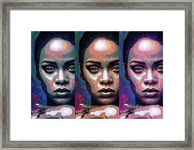 Good Girl Gone Bad Framed Print