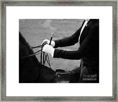 Good Hands Framed Print