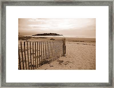 Good Harbor Framed Print