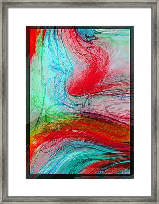 Framed Print featuring the digital art Good Is Coming 3 by Kate Word
