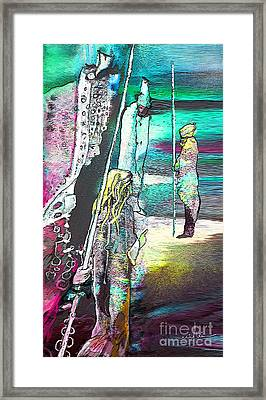 Good Lord Show Me The Way Framed Print by Miki De Goodaboom