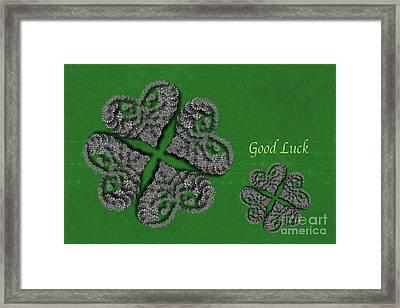 Good Luck Framed Print