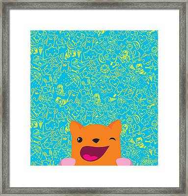 Good Luck Framed Print