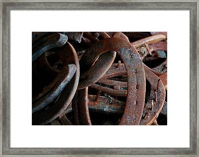 Good Luck Shoes Framed Print by Steven Milner
