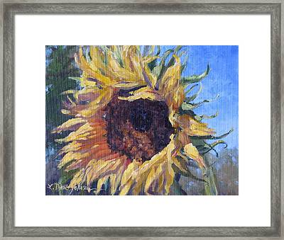 Good Mornin Framed Print by L Diane Johnson