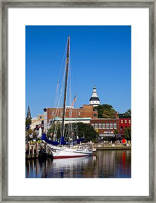 Good Morning Annapolis Framed Print by Edward Kreis