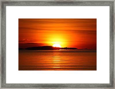 Good Morning Framed Print by Becca Brann
