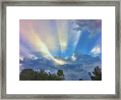 Good Morning Cocoa Framed Print by AnnaJo Vahle