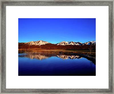 Good Morning Colorado Framed Print by L O C