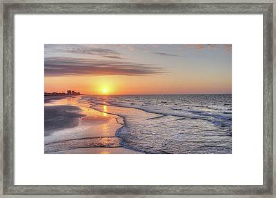 Good Morning Grand Strand Framed Print