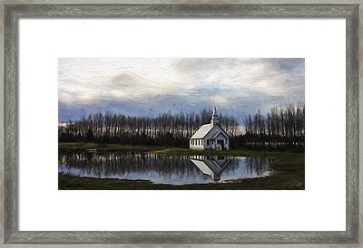 Good Morning - Hope Valley Art Framed Print